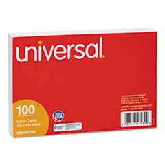 UNV 47230 Universal Recycled Index Strong 2 Pt. Stock Cards UNV47230