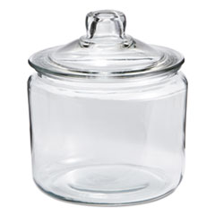 ANH 69832T Anchor  Heritage Hill Glass Jar with Lid ANH69832T