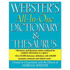 MER FSP0471 Merriam Webster Dictionary and Thesaurus MERFSP0471
