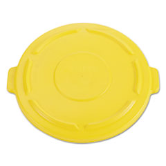 RCP 264560YEL Rubbermaid Commercial Vented Round Brute Lid RCP264560YEL