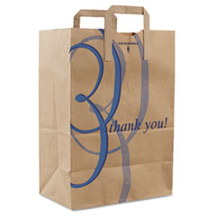 DRO 41265 Duro Bag Stock Thank You Handle Bags DRO41265