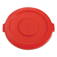 RCP 2631RED Rubbermaid Commercial Round Brute Lid RCP2631RED