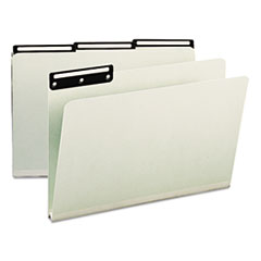 SMD 18430 Smead Recycled Heavy Pressboard File Folders With Insertable Metal Tabs SMD18430
