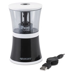 ACM 15912 Westcott iPoint USB/Battery Operated Pencil Sharpener ACM15912