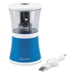 ACM 15978 Westcott iPoint USB/Battery Operated Pencil Sharpener ACM15978