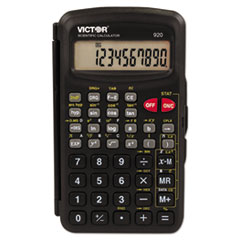 VCT 920 Victor 920 Compact Scientific Calculator with Hinged Case VCT920