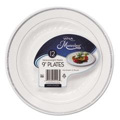 WNA RSM91210WS WNA Masterpiece Plastic Dinnerware WNARSM91210WS