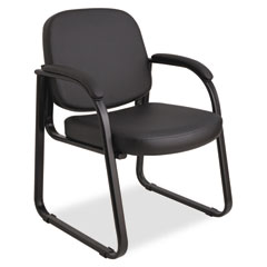 ALE RL43C16 Alera Genaro Series Half-Back Sled Base Guest Chair ALERL43C16