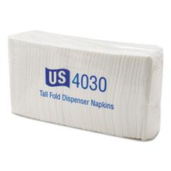 AWC 04030 US SERIES Tallfold Dispenser Napkins AWC04030