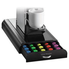 EMS NESTRY01BLK Mind Reader Anchor 50-Capacity Nespresso Capsule Drawer EMSNESTRY01BLK