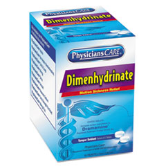 ACM 90031 PhysiciansCare Dimenhydrinate (Motion Sickness) Tablets ACM90031