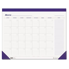 HOD 464 House of Doolittle Recycled Nondated Desk Pad Calendar HOD464