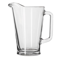 LIB 1792421 Libbey Glass Beer Pitcher LIB1792421