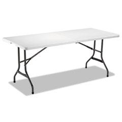 ALE FR72H Alera Fold-in-Half Resin Folding Table ALEFR72H