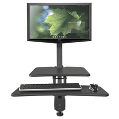 BLT 90530 BALT Up-Rite Desk Mounted Sit-Stand Workstation BLT90530