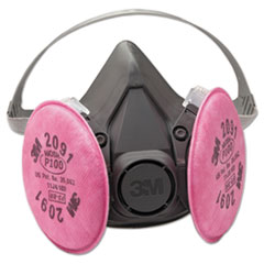 MMM 6291 3M Half Facepiece Respirator 6000 Series, Reusable MMM6291