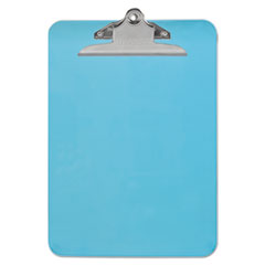 UNV 40307 Universal Plastic Clipboard with High Capacity Clip UNV40307
