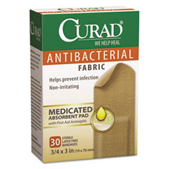 MII CUR47255RB Curad Flex Fabric Antibacterial Bandages MIICUR47255RB