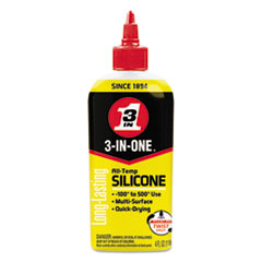 WDF 120008CT WD-40 3-IN-ONE Professional Silicone Lubricant WDF120008CT