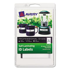 AVE 00747 Avery Self-Laminating ID Labels AVE00747
