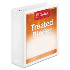 CRD 32230 Cardinal Treated Binder ClearVue Locking Round Ring Binder CRD32230