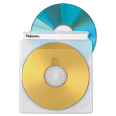 FEL 90661 Fellowes CD/DVD Sleeves FEL90661