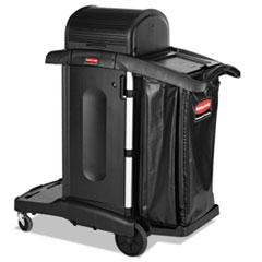 RCP 1861427 Rubbermaid Commercial Executive High Security Janitorial Cleaning Cart RCP1861427