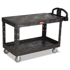 RCP 4545BLA Rubbermaid Commercial Heavy-Duty Utility Cart RCP4545BLA