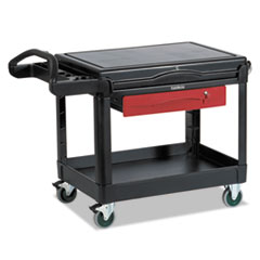 RCP 453588BLA Rubbermaid Commercial TradeMaster Professional Contractor's Cart RCP453588BLA