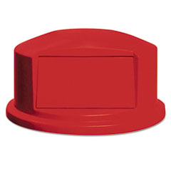 RCP 264788RED Rubbermaid Commercial Round Brute Dome Top RCP264788RED
