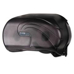 SJM R3690TBK San Jamar Versatwin Standard Bath Tissue Dispenser SJMR3690TBK