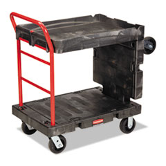 RCP 4496BLA Rubbermaid Commercial Convertible Platform Truck RCP4496BLA