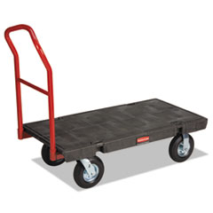 RCP 443610BLA Rubbermaid Commercial Heavy-Duty Platform Truck RCP443610BLA