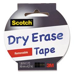 MMM 1905RDEWHT Scotch Dry Erase Tape MMM1905RDEWHT