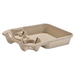 HUH 20975 Chinet  StrongHolder  Molded Fiber Cup/Food Trays HUH20975