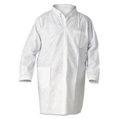 KCC 10019 KleenGuard* A20 Breathable Particle Protection Lab Coats KCC10019