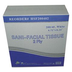 GEN HSF200402 GEN Sani Facial Tissue GENHSF200402