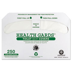 HOS GREEN1000 HOSPECO Health Gards Green Seal Recycled Toilet Seat Covers HOSGREEN1000