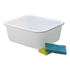 RCP 2951ARWHTCT Rubbermaid  Microban  Dishpan RCP2951ARWHTCT