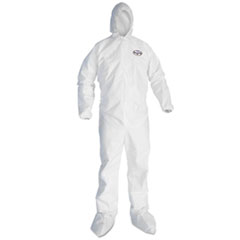KCC 46145 KleenGuard* A30 Breathable Splash and Particle Protection iFLEX* Stretch Coveralls KCC46145
