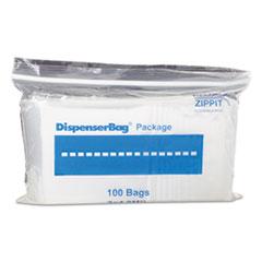 MGP MGZ2P0304 BagCo Zippit Resealable Bags MGPMGZ2P0304