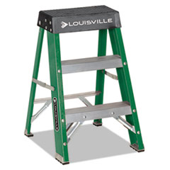 DAD L321202 Louisville Folding Fiberglass Step Stool DADL321202