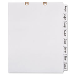 AVE 13161 Avery Write & Erase Tab Dividers for Classification Folders AVE13161