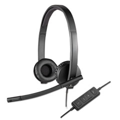 LOG 981000574 Logitech USB H570e Over-the-Head Wired Headset LOG981000574