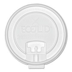 ECO EPHCLDTRN20 Eco-Products Plastic Hot Cup Lids ECOEPHCLDTRN20
