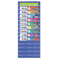SHS 511498 Scholastic Daily Schedule Pocket Chart SHS511498
