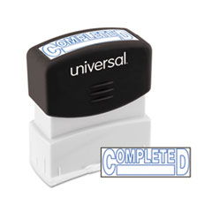 UNV 10044 Universal Pre-Inked One-Color Stamp UNV10044