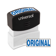 UNV 10060 Universal Pre-Inked One-Color Stamp UNV10060