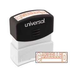 UNV 10045 Universal Pre-Inked One-Color Stamp UNV10045