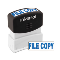 UNV 10104 Universal Pre-Inked One-Color Stamp UNV10104
